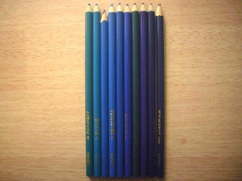 フェリシモ500色の色鉛筆371-380写真
