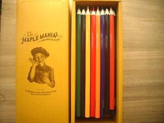 メープルマニア色鉛筆