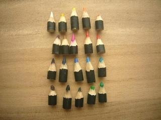 色鉛筆を使い切った