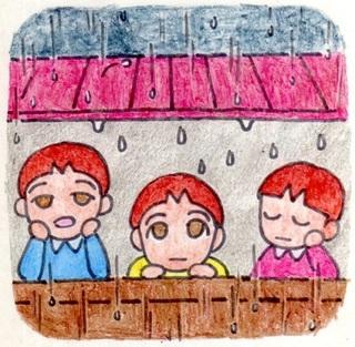 Rain, go away